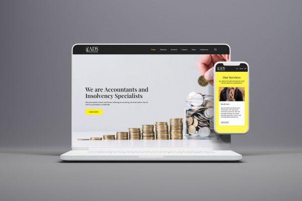 ads accountants website design - bull media