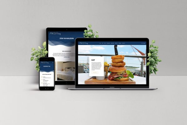 fish on the quay website design - bull media